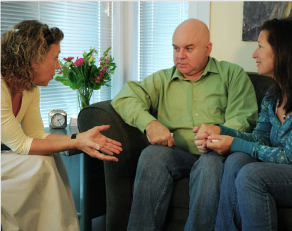 Counsellor in treatment with Couple treating marital conflict and relationship issues, Vancouver B.C.